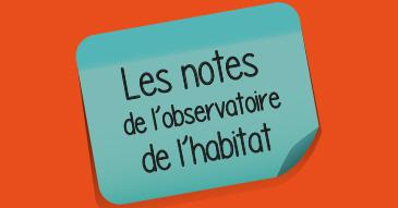 Post-it Notes de l'observatoire habitat