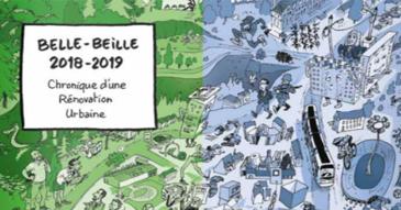 Couverture de la BD Belle-Beille
